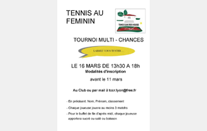 Tournoi multi-chances