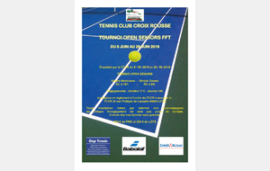 Tournoi open seniors FFT